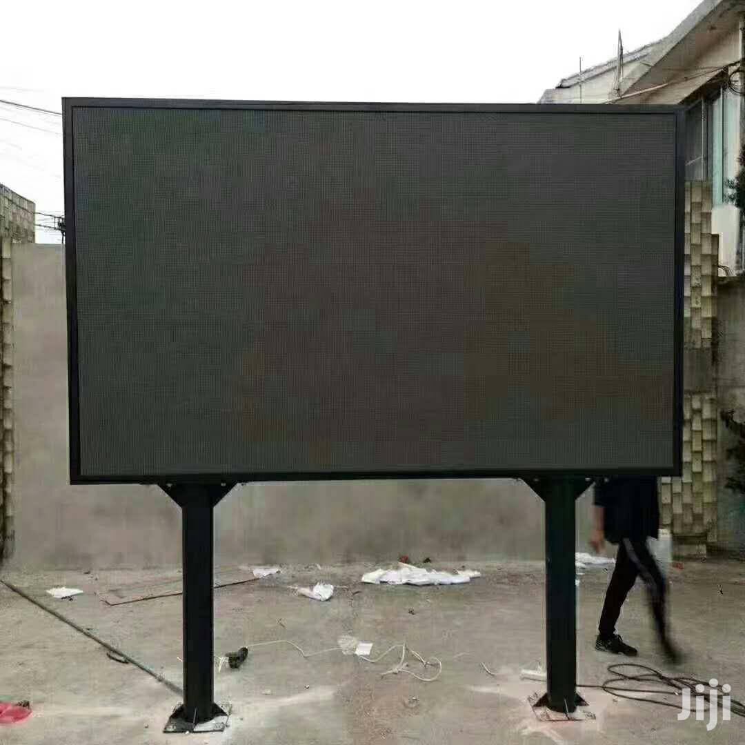 Double Stand Outdoor LED Display Billboard
