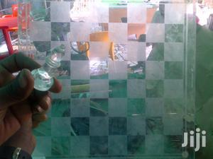 Glass / Ice Chess Board