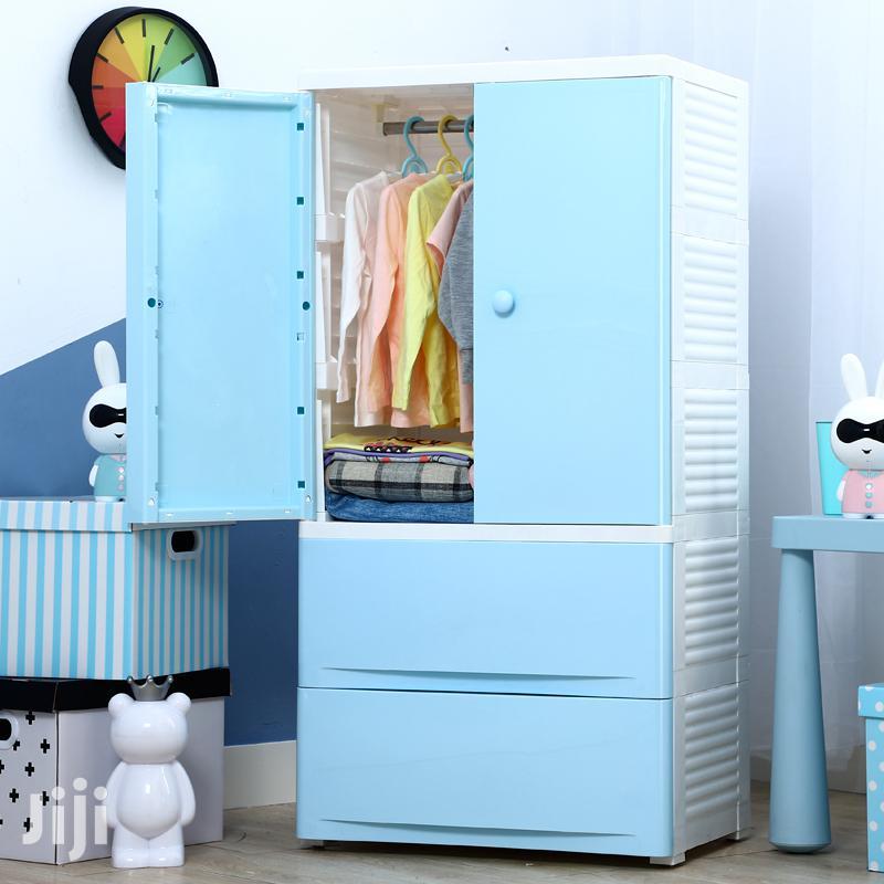 Plastic Storage Baby Wardrobe - Big Size