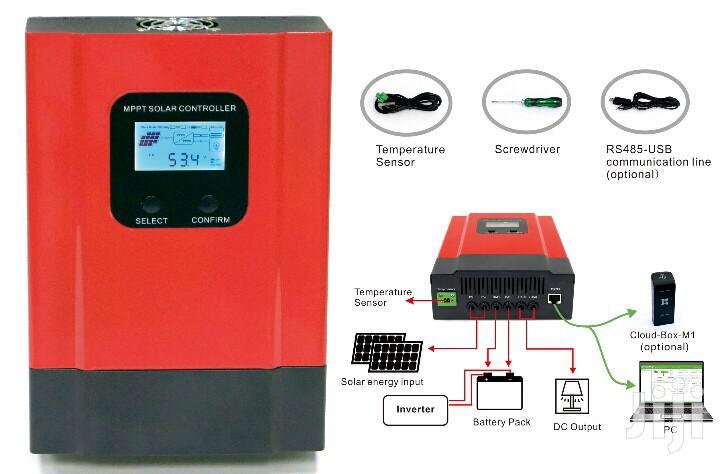 12V/24V/36v/48V 60A Solar Charge Controller