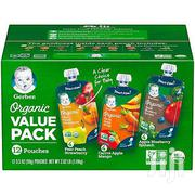 Gerber Organic 2nd Food Baby Food, Fruits & Veggies (12pcs) | Baby & Child Care for sale in Lagos State, Ikeja
