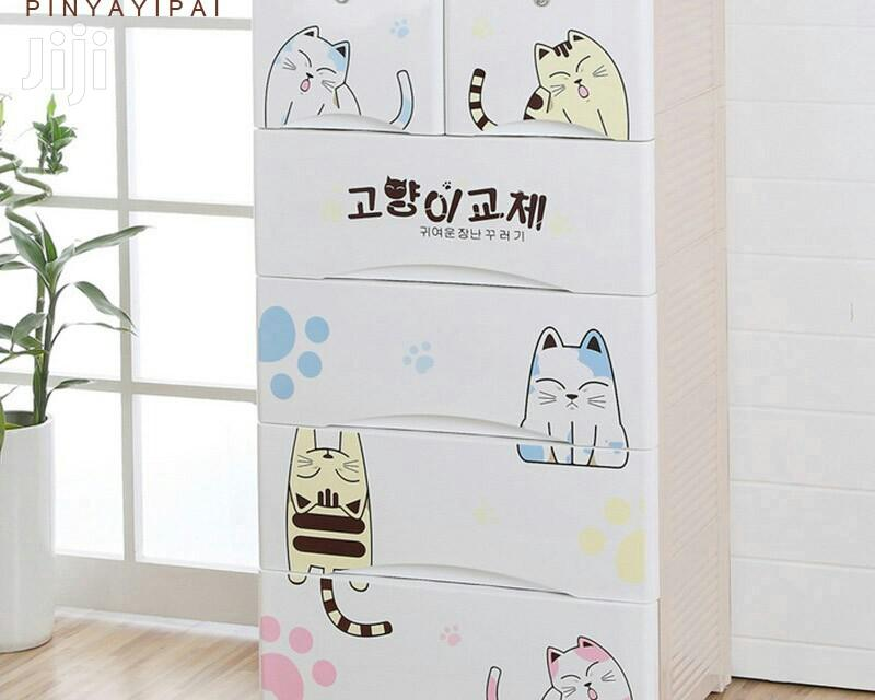 Baby Thick Plastic Wardrobe Cabinet