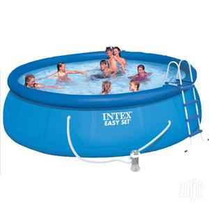 New 15ft Intex Pool With Ladder   Sports Equipment for sale in Rivers State, Port-Harcourt