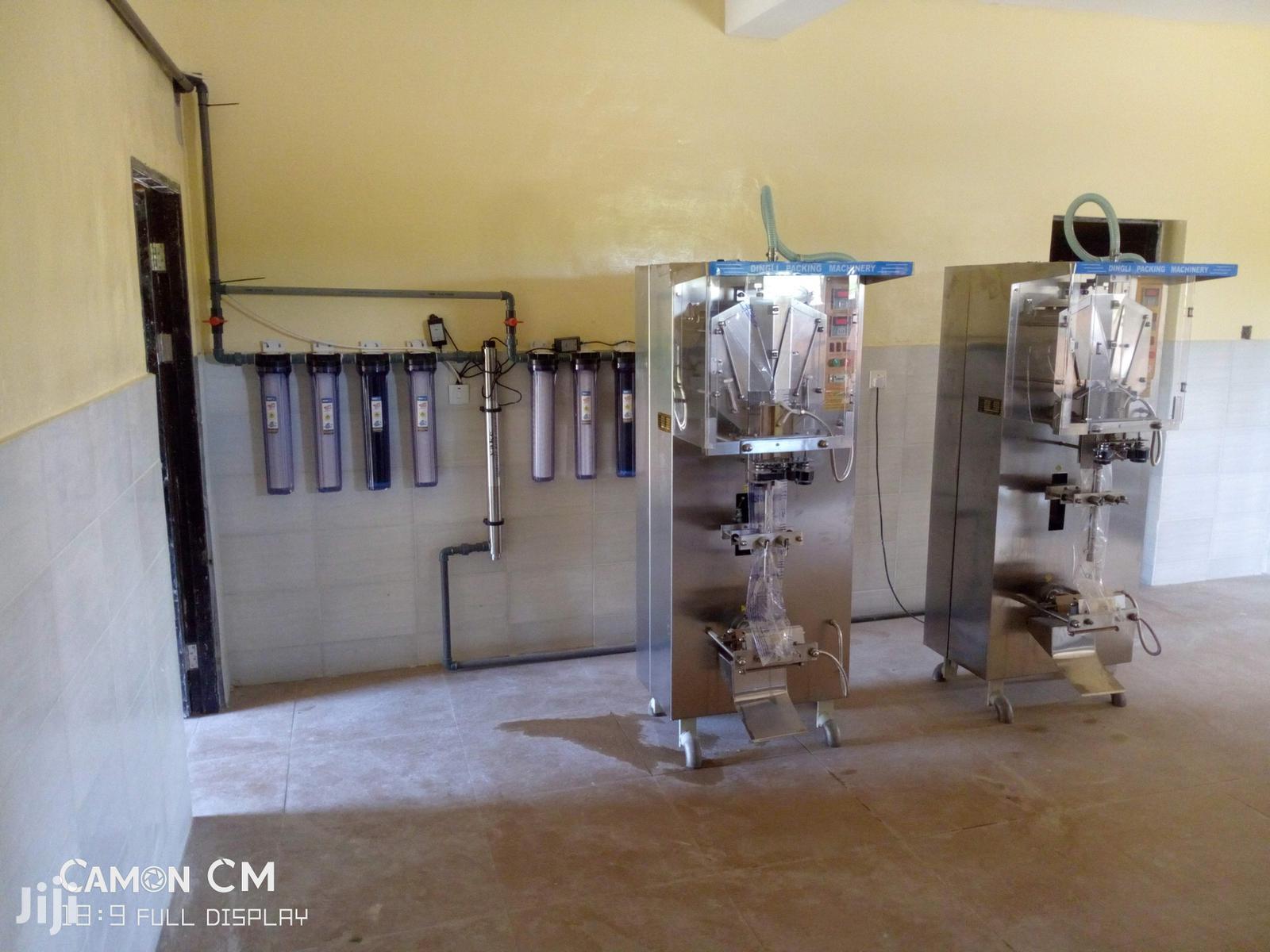 Sachet Water Packaging Machine   Manufacturing Equipment for sale in Kubwa, Abuja (FCT) State, Nigeria