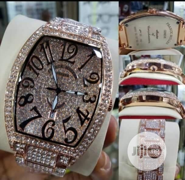 Frank Muller All Ice Wrist Watch