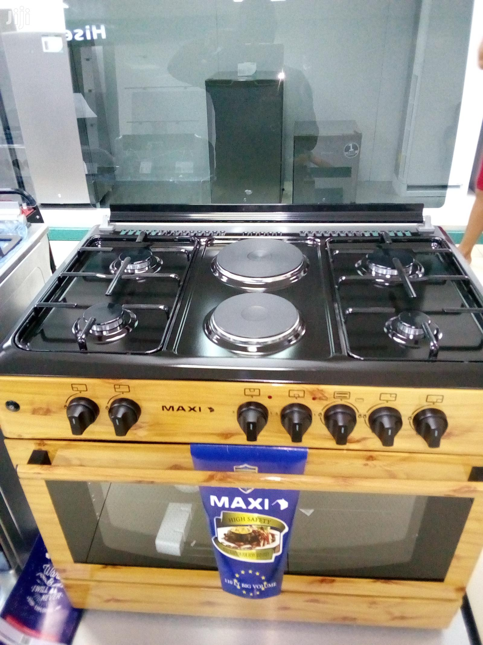 Maxi Gas Cooker (4+2)Wood