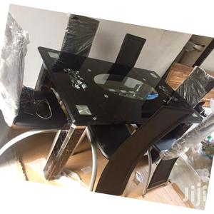 Quality Glass Top Dining Table   Furniture for sale in Lagos State, Ejigbo