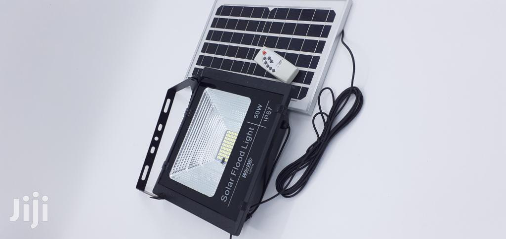 50watts Flood Solar Led Lights For Sale Nationwide | Solar Energy for sale in Ikeja, Lagos State, Nigeria