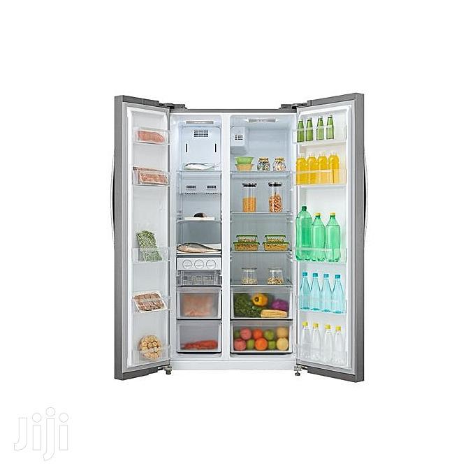 Brand New Original Midea Side By Side Refrigerator Hc-689wen | Kitchen Appliances for sale in Ojo, Lagos State, Nigeria