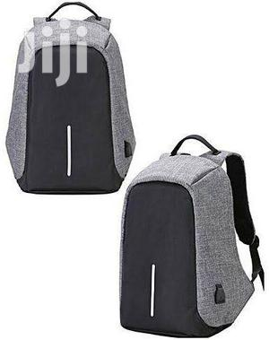 Anti-Theft USB Charging Port Backpack on Grineria Store | Bags for sale in Lagos State