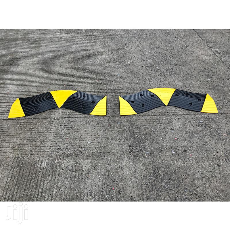 2m Rubber Traffic Speed Breaker Bump Hump | Safety Equipment for sale in Ibadan, Oyo State, Nigeria