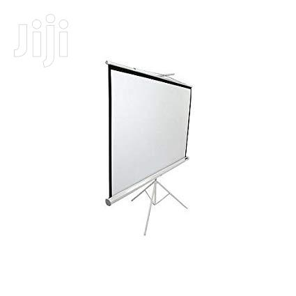 Projector SCREEN 72 X 72 | TV & DVD Equipment for sale in Wuse 2, Abuja (FCT) State, Nigeria