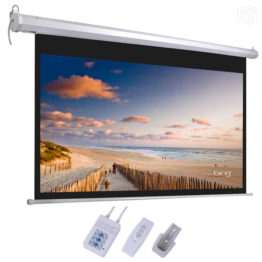 Projector SCREEN 92 X 92 | TV & DVD Equipment for sale in Wuse 2, Abuja (FCT) State, Nigeria