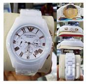 Emporio Armani Ceramic Wrist Watch - White | Watches for sale in Lagos State, Ikeja