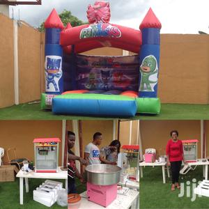 Brand New Castles Candy Floss Foreign Popcorn Machines For Sale | Party, Catering & Event Services for sale in Lagos State, Ikeja