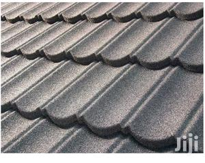 Black Bond And Shingle Stone Copated Roofing Sheets Water Gutter | Building Materials for sale in Lagos State, Apapa