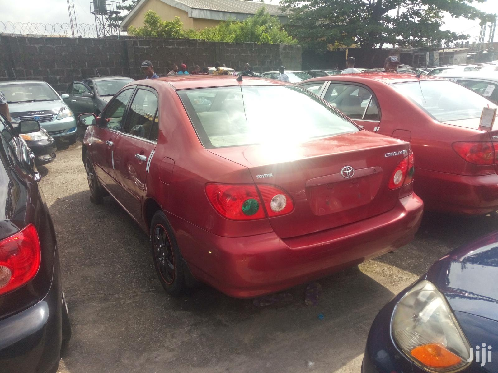Archive: Toyota Corolla 2006 LE Red