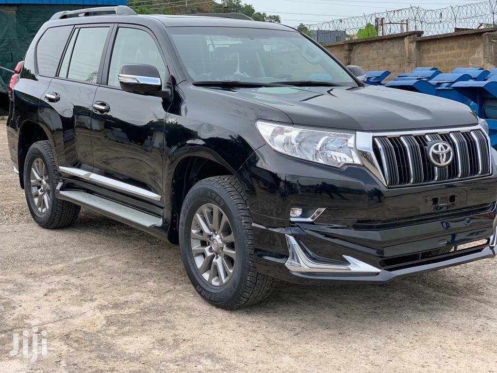 New Toyota Land Cruiser Prado 2018 VXR Black