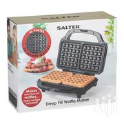 Salter Deep Fill Waffle Maker | Kitchen Appliances for sale in Lagos State, Lekki Phase 2