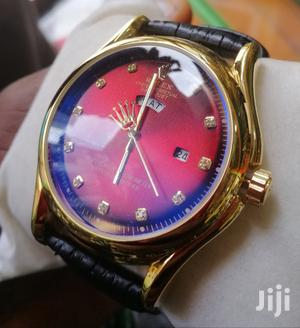 Rolex Leather Wrist Watch   Watches for sale in Lagos State, Lagos Island (Eko)