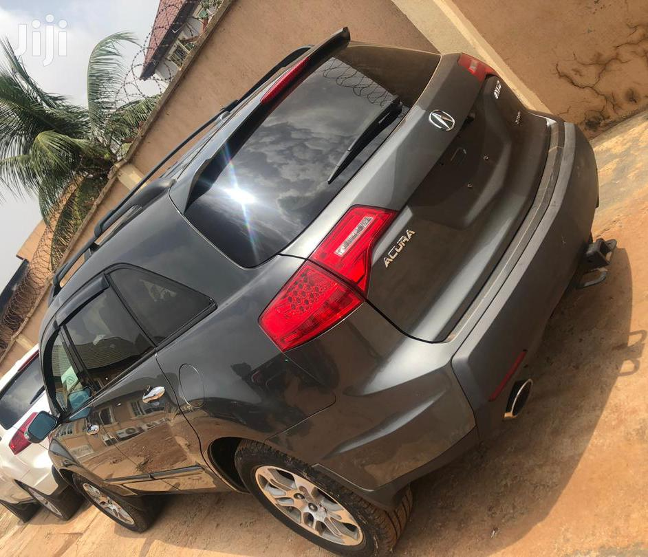 Acura MDX 2008 SUV 4dr AWD (3.7 6cyl 5A) Gray | Cars for sale in Ikeja, Lagos State, Nigeria