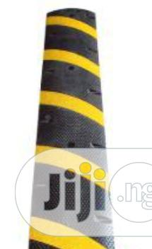Yellow Strips Rubber Speed Bump BY HIPHEN SOLUTIONS