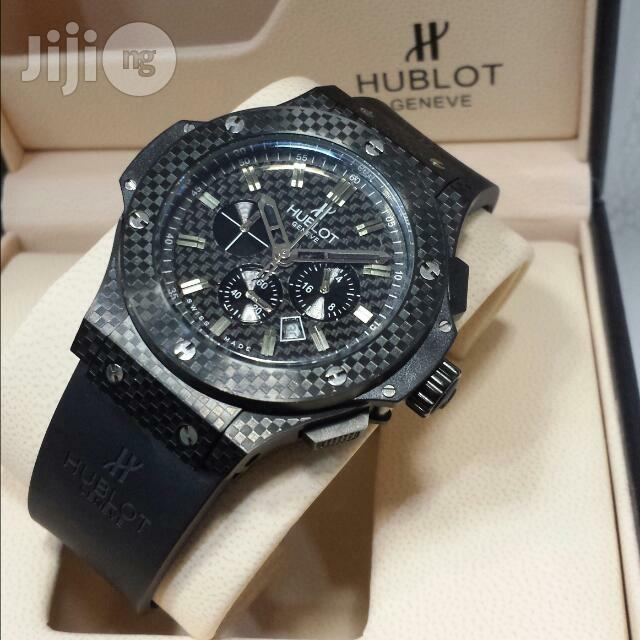 Hublot Geneve Chronograph Black Watch