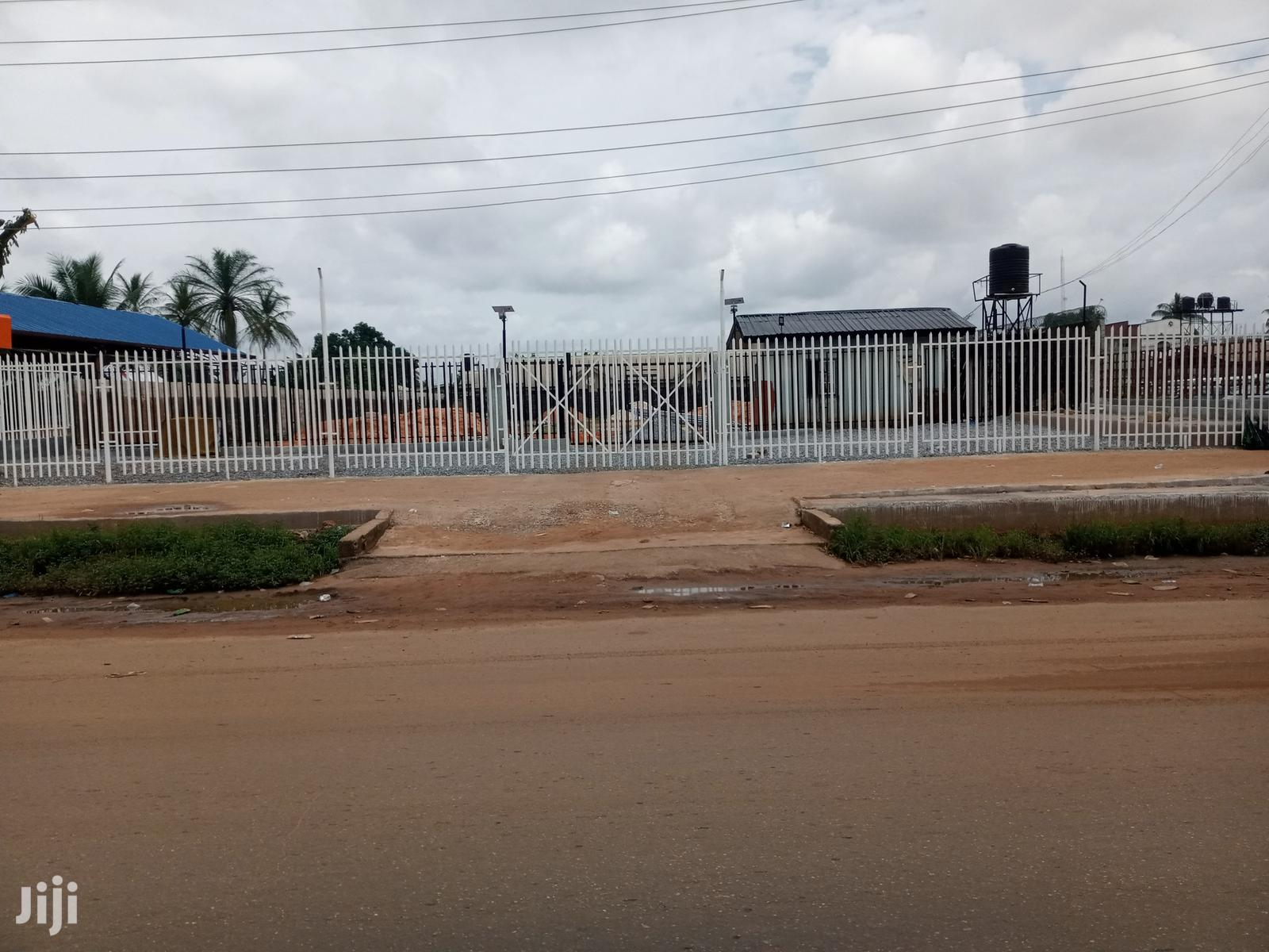 Empty Plot of Land for Sale Along Sapele
