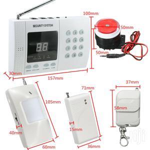 Wireless Home Intruder Burglar Alarm System Auto Dialer Smoke Sensor | Safetywear & Equipment for sale in Delta State, Warri
