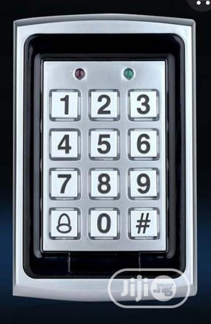 K7612 IP65 Waterproof Metal Access Control Anti-shock Card Reader