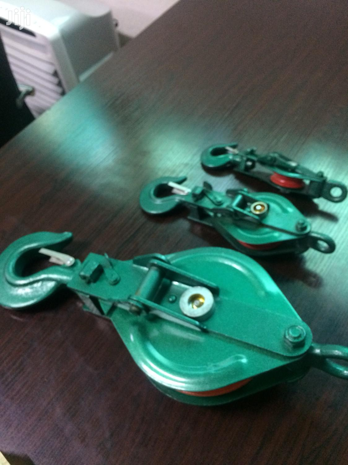 Pulley Block Single With Hook | Hand Tools for sale in Lagos Island (Eko), Lagos State, Nigeria