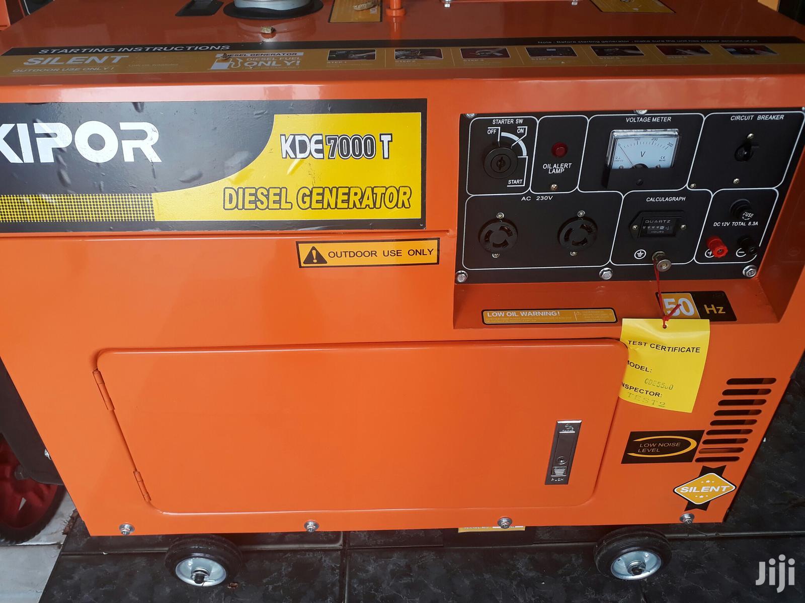 Kipor Diesel Generator 7kva