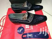 Dark Blue Spanish Brands Mister Shoes With Pureleather Skin Dots | Shoes for sale in Lagos State, Lagos Island