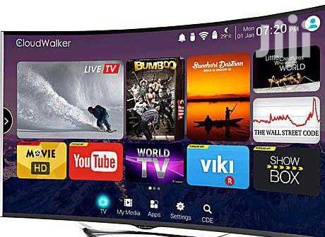 Hisense 55 Curved Smart TV