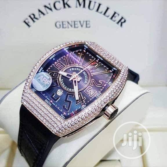 Franck Muller Leather Wrist Watch