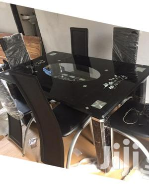 Glass Top Dining Table (Classic)   Furniture for sale in Lagos State, Ikorodu