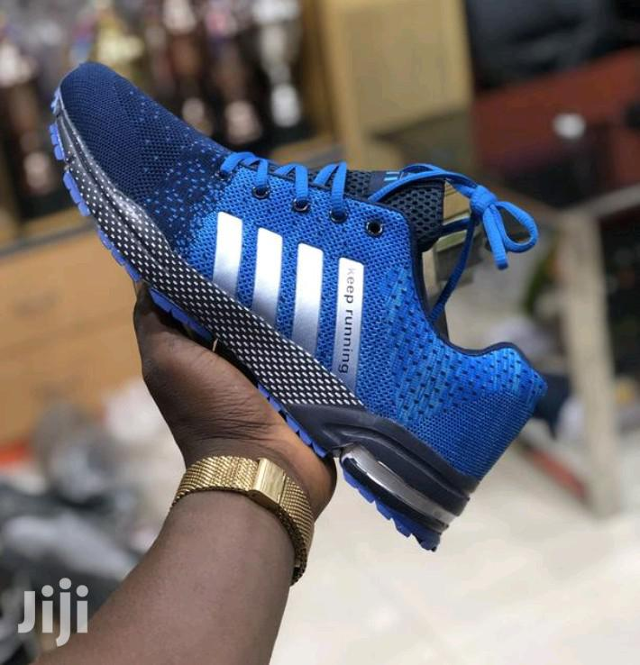 New Adidas Canvas Blue | Shoes for sale in Victoria Island, Lagos State, Nigeria