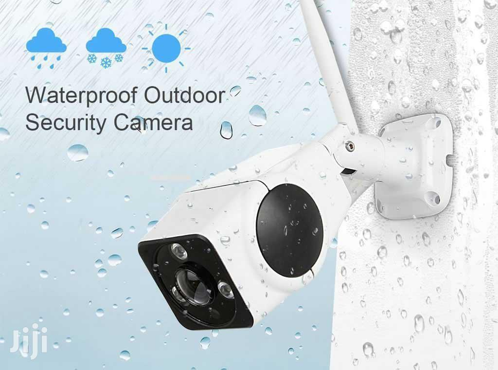 V380 1080P Wifi Mobile Outdoor Panoramic IP Camera | Security & Surveillance for sale in Ikeja, Lagos State, Nigeria