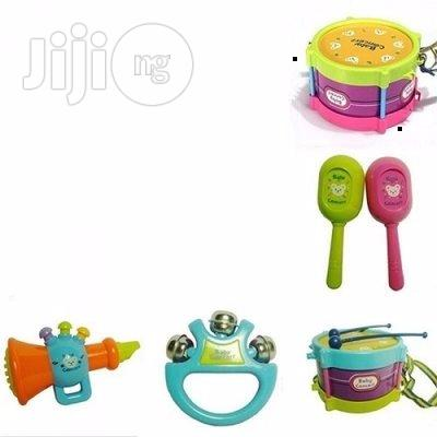 5-piece Toy Drum Set