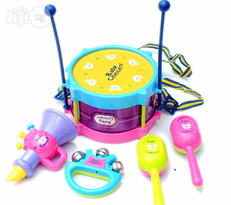 5-piece Toy Drum Set | Musical Instruments & Gear for sale in Ikoyi, Lagos State, Nigeria