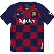 Barcelona Home Shirt Kids | Children's Clothing for sale in Lagos State, Lekki Phase 1