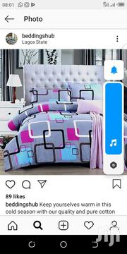 Complete 6*6 Duvet Cover, Bedsheet And 4 Pillow Cases | Home Accessories for sale in Lagos State, Ikeja