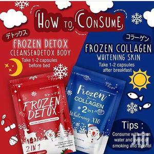 Frozen Detox And Frozen Collagen Dietary Supplements | Vitamins & Supplements for sale in Lagos State, Amuwo-Odofin