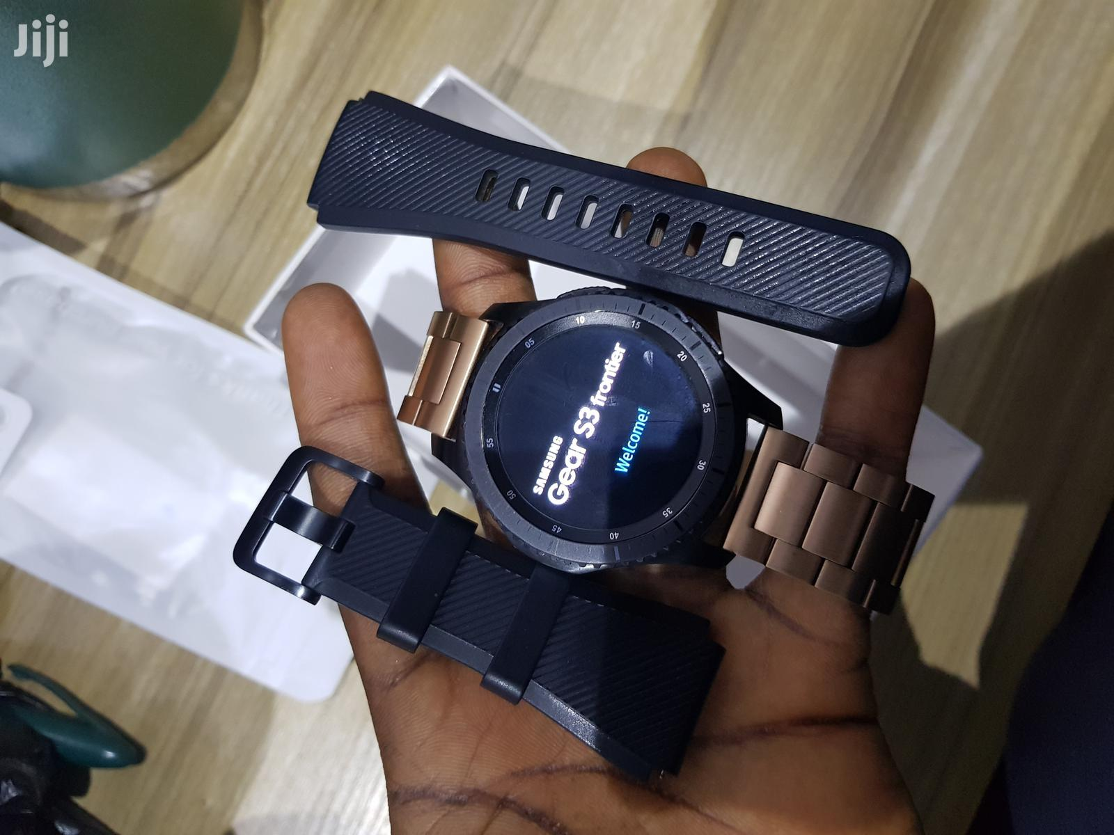 Yankee Used Samsung Galaxy Gear S3 Frontier For Sale | Smart Watches & Trackers for sale in Ibadan, Oyo State, Nigeria