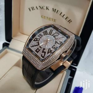 Franck Muller Rose Gold Full Ice Leather Strap Watch   Watches for sale in Lagos State, Lagos Island (Eko)