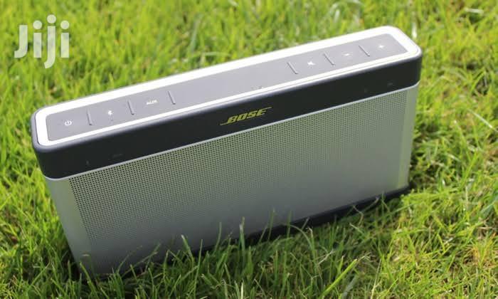 Bose Soundlink Portable Bluetooth Speaker III   Audio & Music Equipment for sale in Ikeja, Lagos State, Nigeria