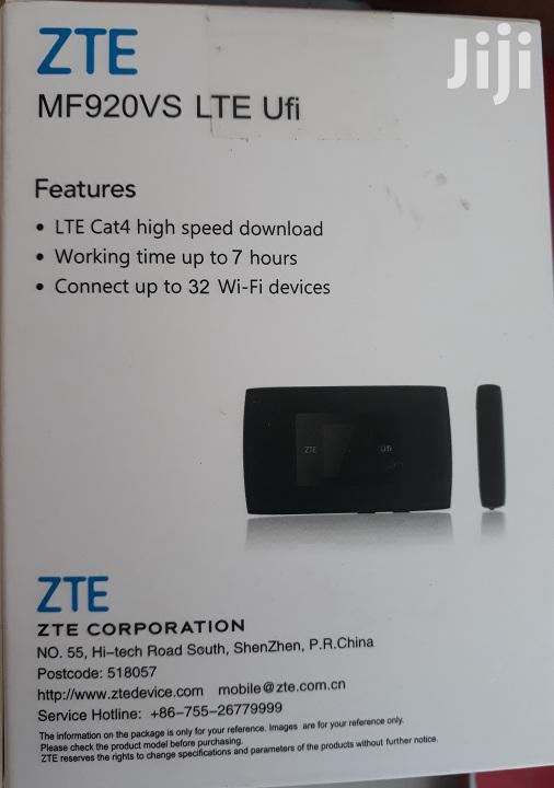 Zte LTE Ufi Modem | Networking Products for sale in Ikeja, Lagos State, Nigeria