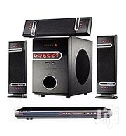 Djack 3.1CH Bluetooth Home Theatre + LG DVD PLAYER | Audio & Music Equipment for sale in Lagos State, Amuwo-Odofin