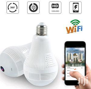 960P Hidden Wifi Camera Light Bulb Mini Security IP Camera | Security & Surveillance for sale in Lagos State, Ikeja