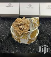 Versace Belts With Golden Medusa Head Buckle | Clothing Accessories for sale in Lagos State, Lagos Island